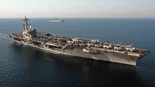 Sailors aboard USS George H.W. Bush test positive for coronavirus