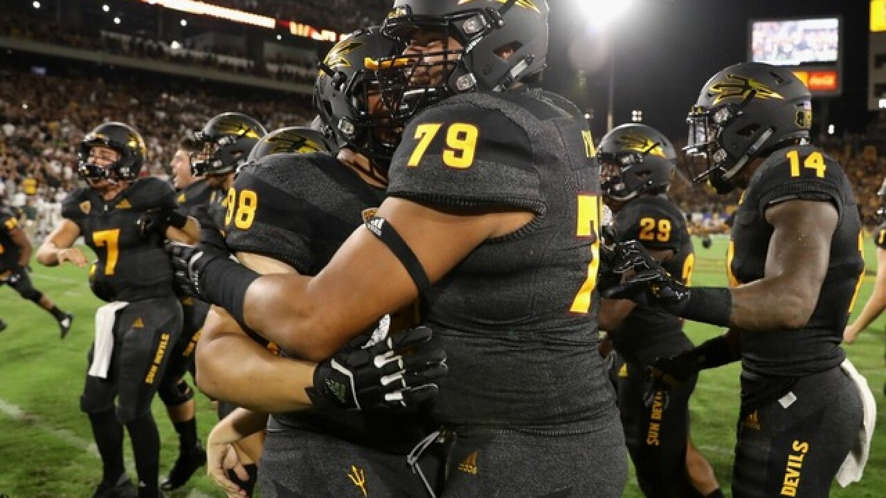 FORKS UP: ASU Sun Devils ranked in new top 25 polls