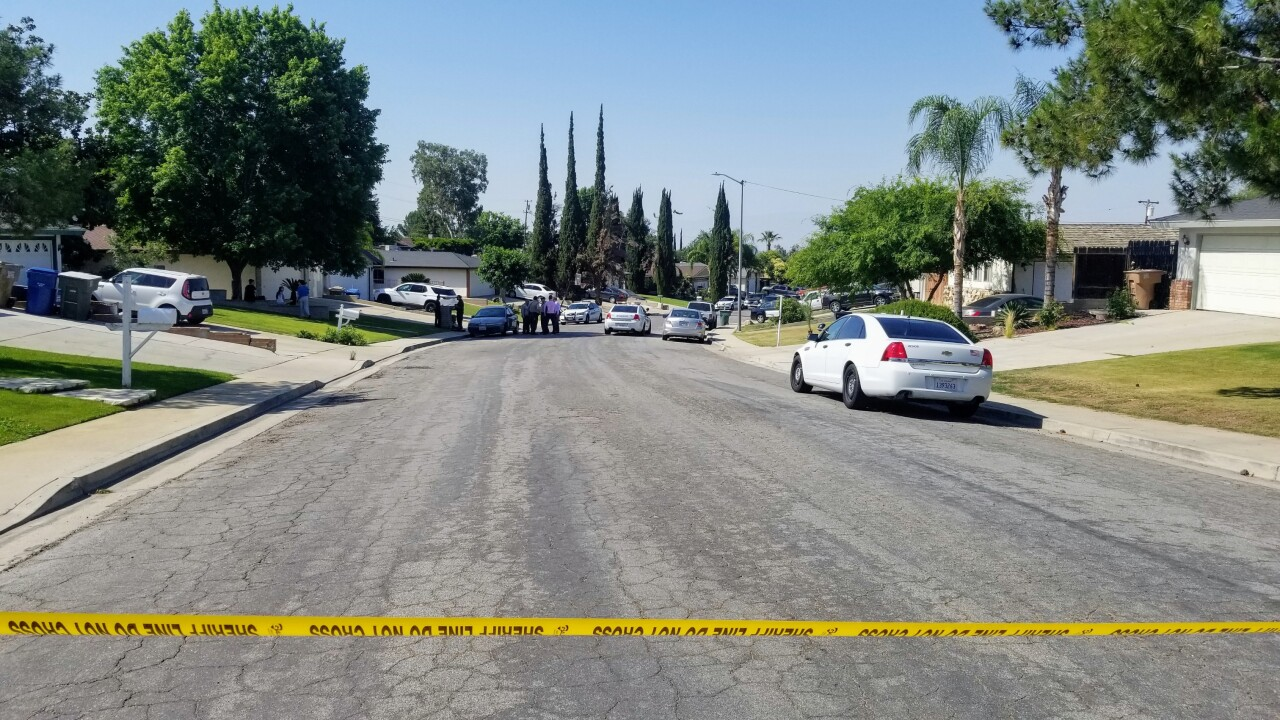 Home Invasion Shooting Crime Scene