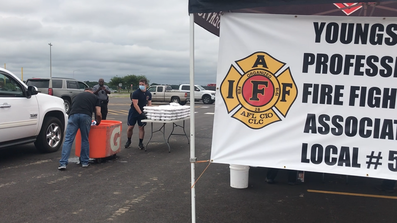 youngsville firefighters association meals.PNG