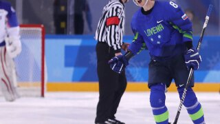 Slovenia hockey player tests positive for doping at Olympics