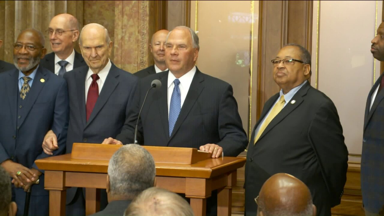 LDS church leaders meet with NAACP, call for 'greater civility and racial harmony'