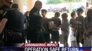 Operation Safe Return allows police and local leaders to provide supplies for students
