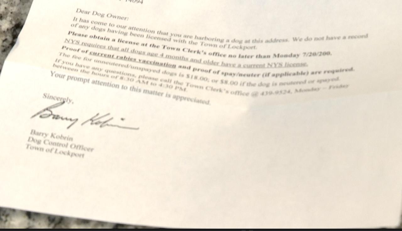 lockport letter