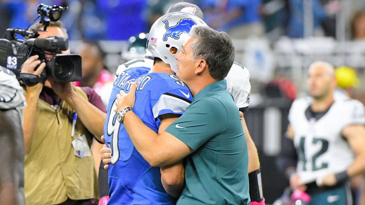 Matthew Stafford, Jim Schwartz share mutual respect ahead of matchup