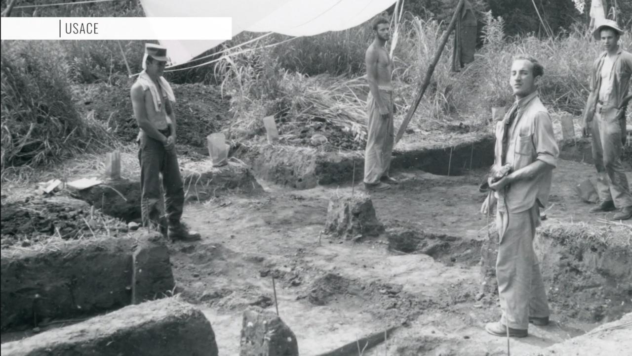 Program trains military veterans for world of archaeology