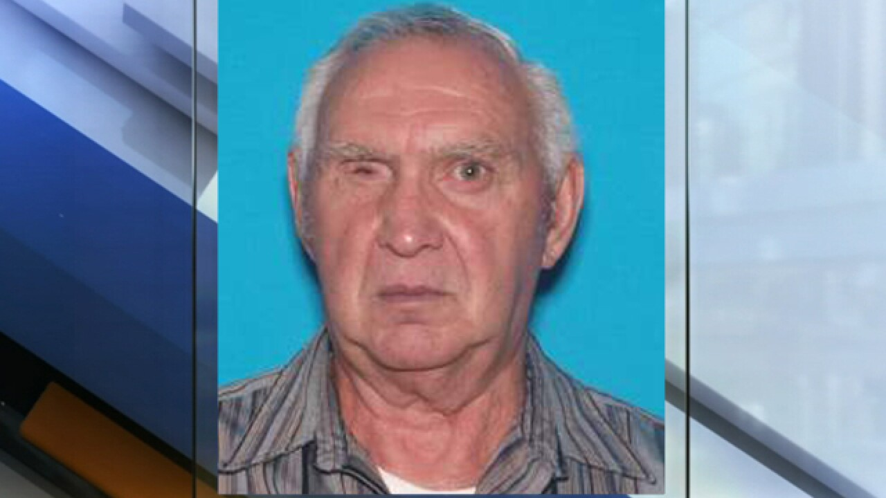 Officials looking for missing elderly man