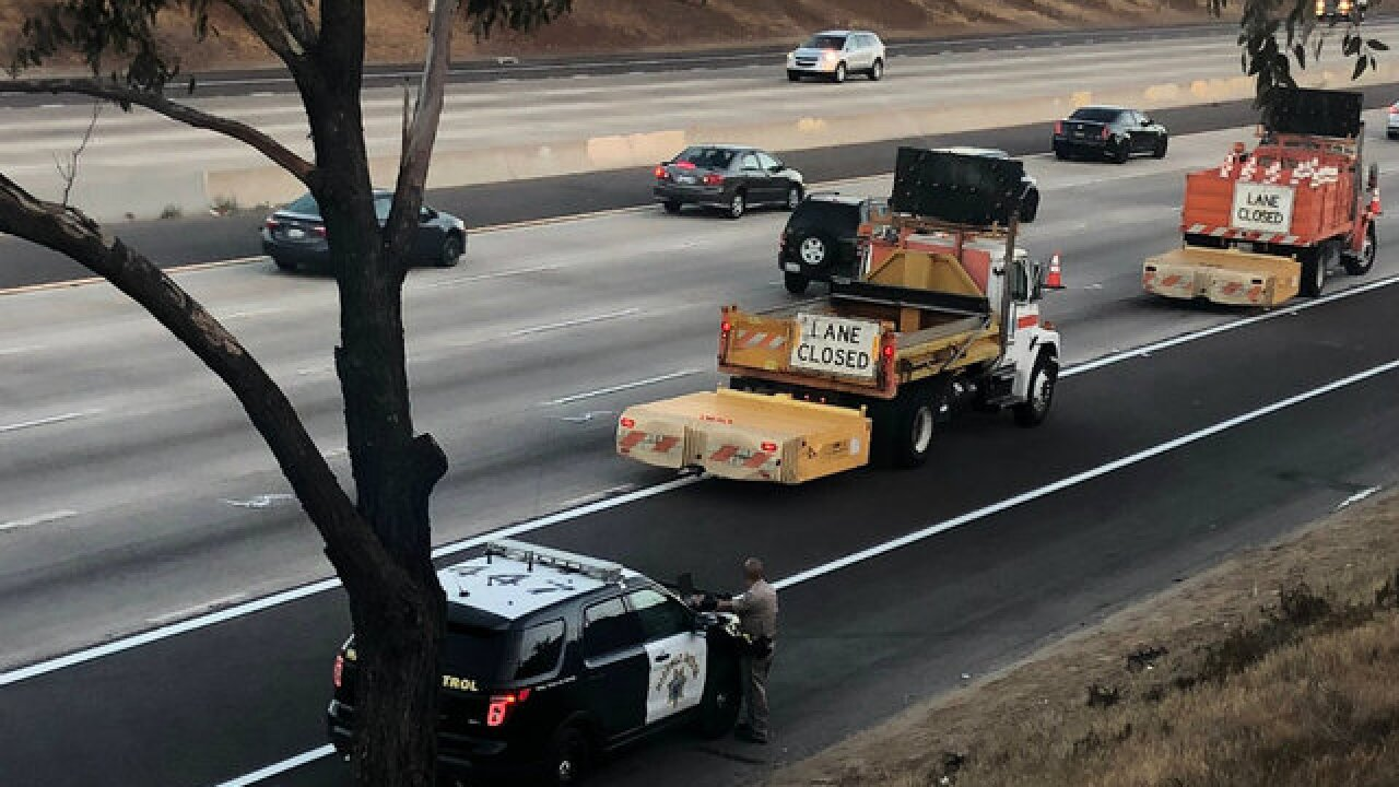 Man hit by car, killed on I-5 in Chula Vista