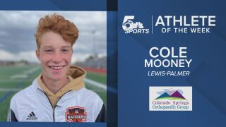 KOAA Athlete of the Week: Lewis-Palmer's Cole Mooney