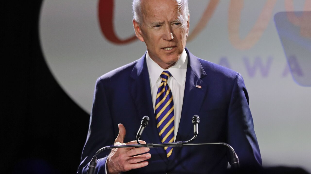 Former Nevada politician alleges Joe Biden kissed the back of her head in 2014