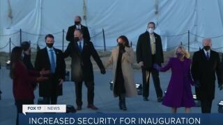 Michael McDaniel discusses security during inauguration