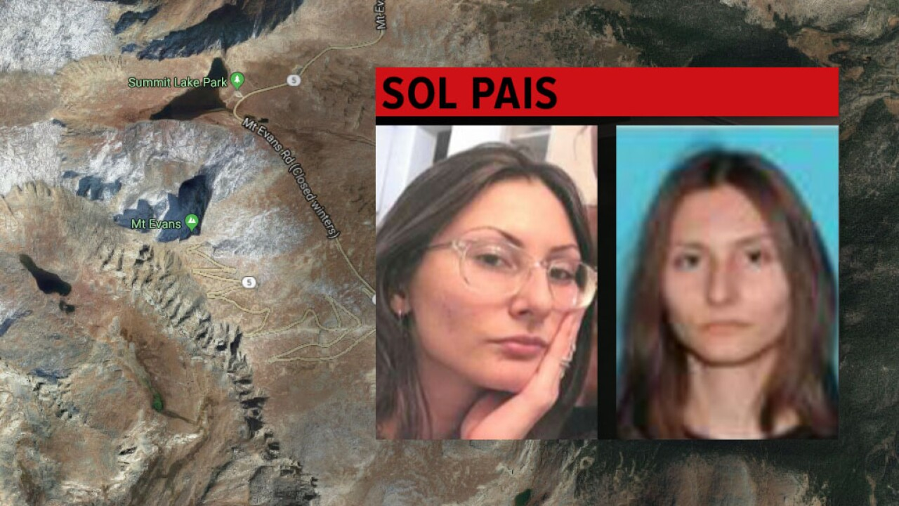 Woman 'infatuated' with Columbine, center of manhunt, found dead near base of Mt. Evans in Colorado, sources say
