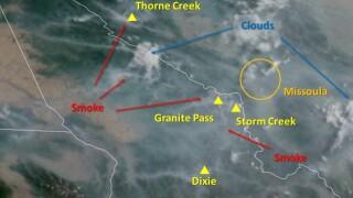 Satellite Smoke 729