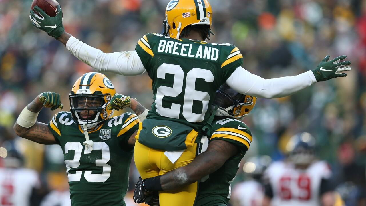 Former Packers CB Bashaud Breeland signs with Chiefs