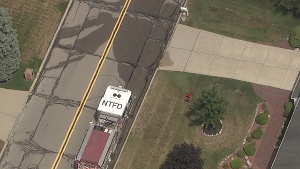 Gas leak prompts evacuations in Northville Twp.