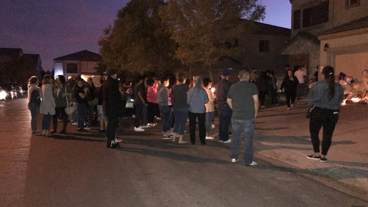 Vigil held for 11-year-old shooting victim