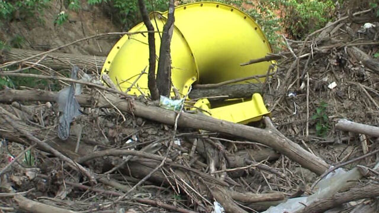City won't help clear creek blockages