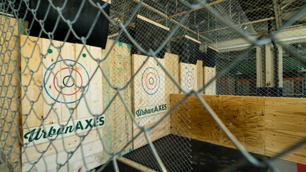 Urban Axes: Ax-throwing bar to open in downtown Phoenix's Warehouse District