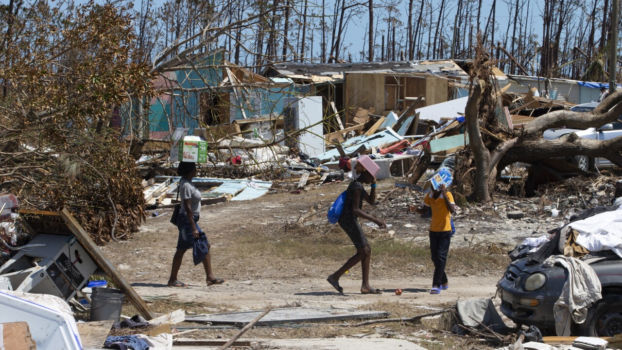Nearly 2 weeks after Hurricane Dorian, 1,300 people still missing in the Bahamas