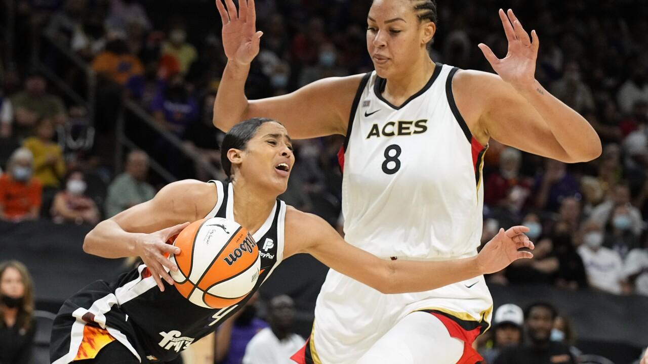 Aces Mercury Basketball