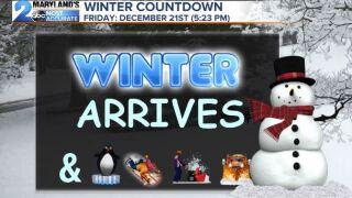 Winter Arrived Friday Dec. 21st, 2018 (5:23pm)