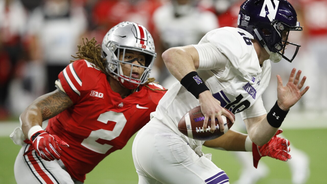 Ohio State defensive end Chase Young will not play this week due to possible NCAA violation