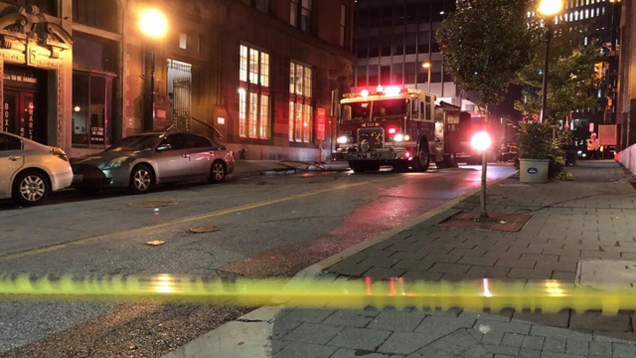 Paramedic injured in manhole explosion