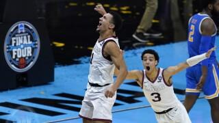 NCAA Final Four UCLA Gonzaga Basketball