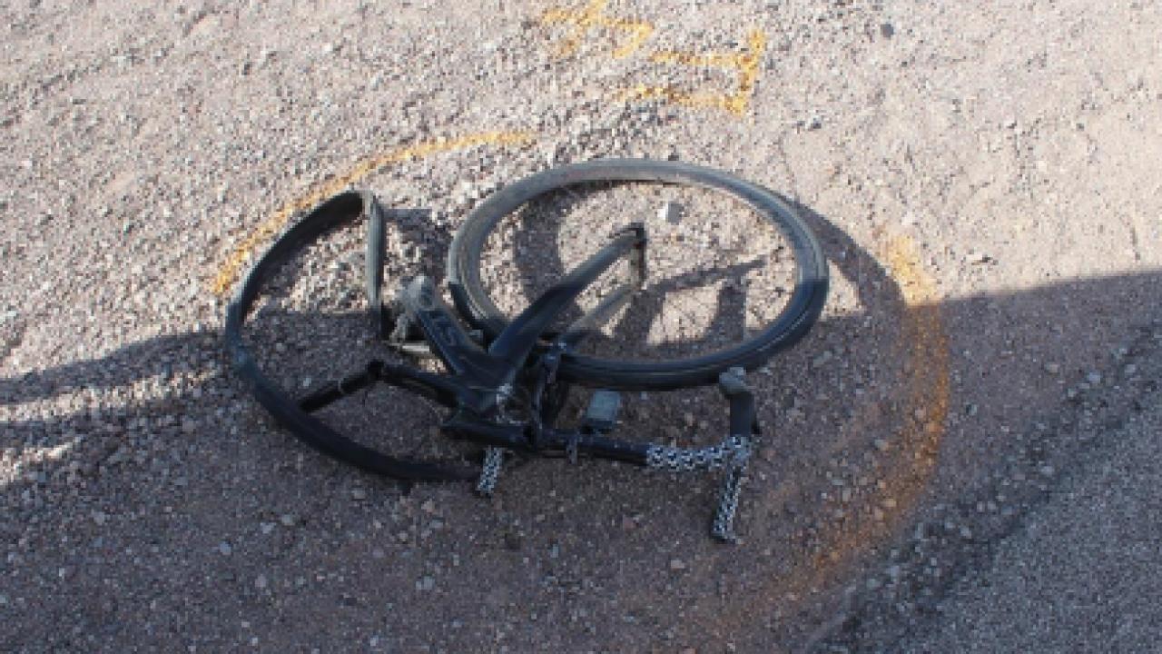 Fatal cyclist US 95 bike.PNG