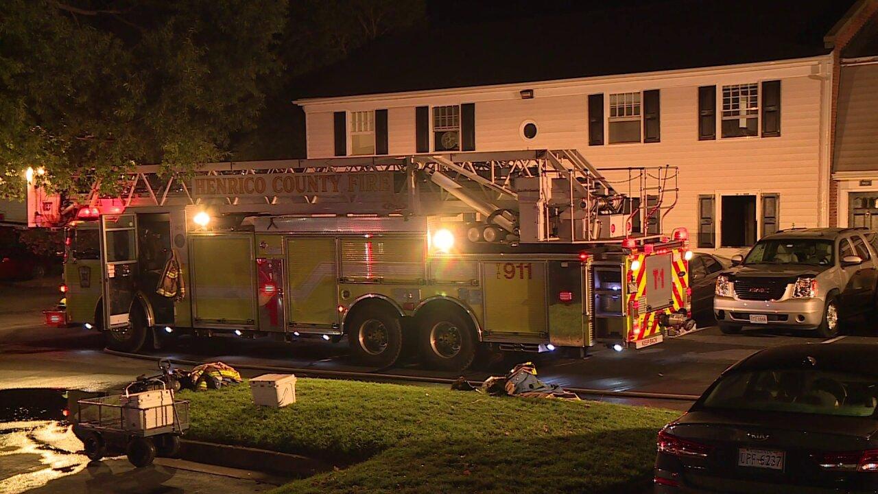 Henrico fire damages fourapartments
