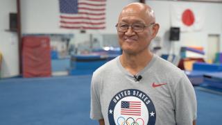 Yoichi Tomita, owner of Gymnastics World