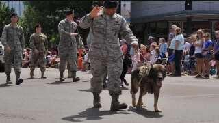 Malmstrom Air Force Base remembers K-9 Aslan