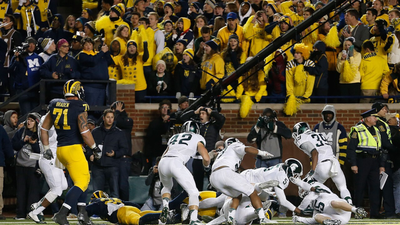 MSU's win over UM highlights best games of 2015