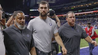 Andrew_Luck_Chicago Bears v Indianapolis Colts