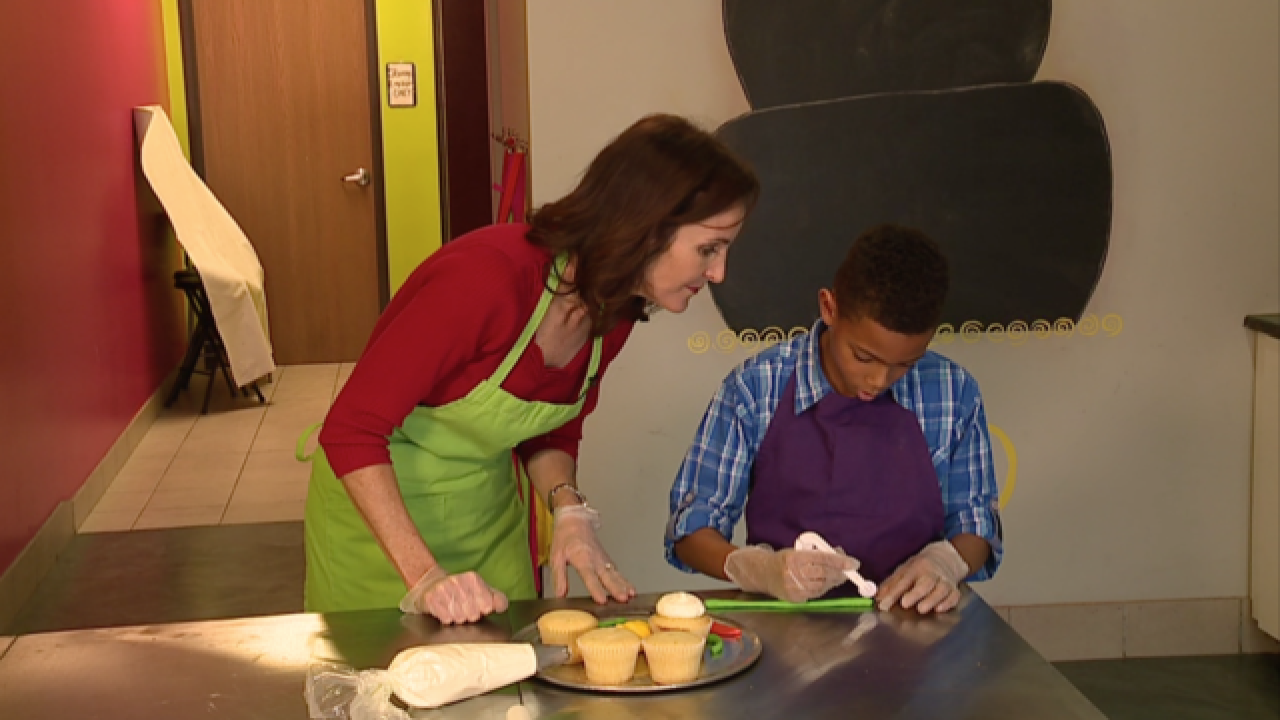 Local 5th grader appearing on Food Network