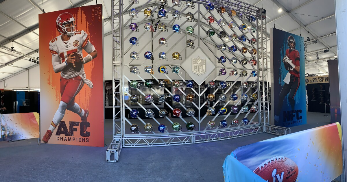 'Sold out' Super Bowl Experience  is officially open