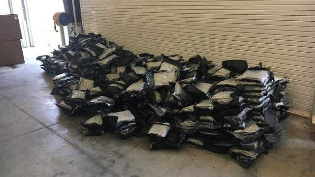 Sarpy County deputy seizes 1,000 pounds of marijuana in traffic stop