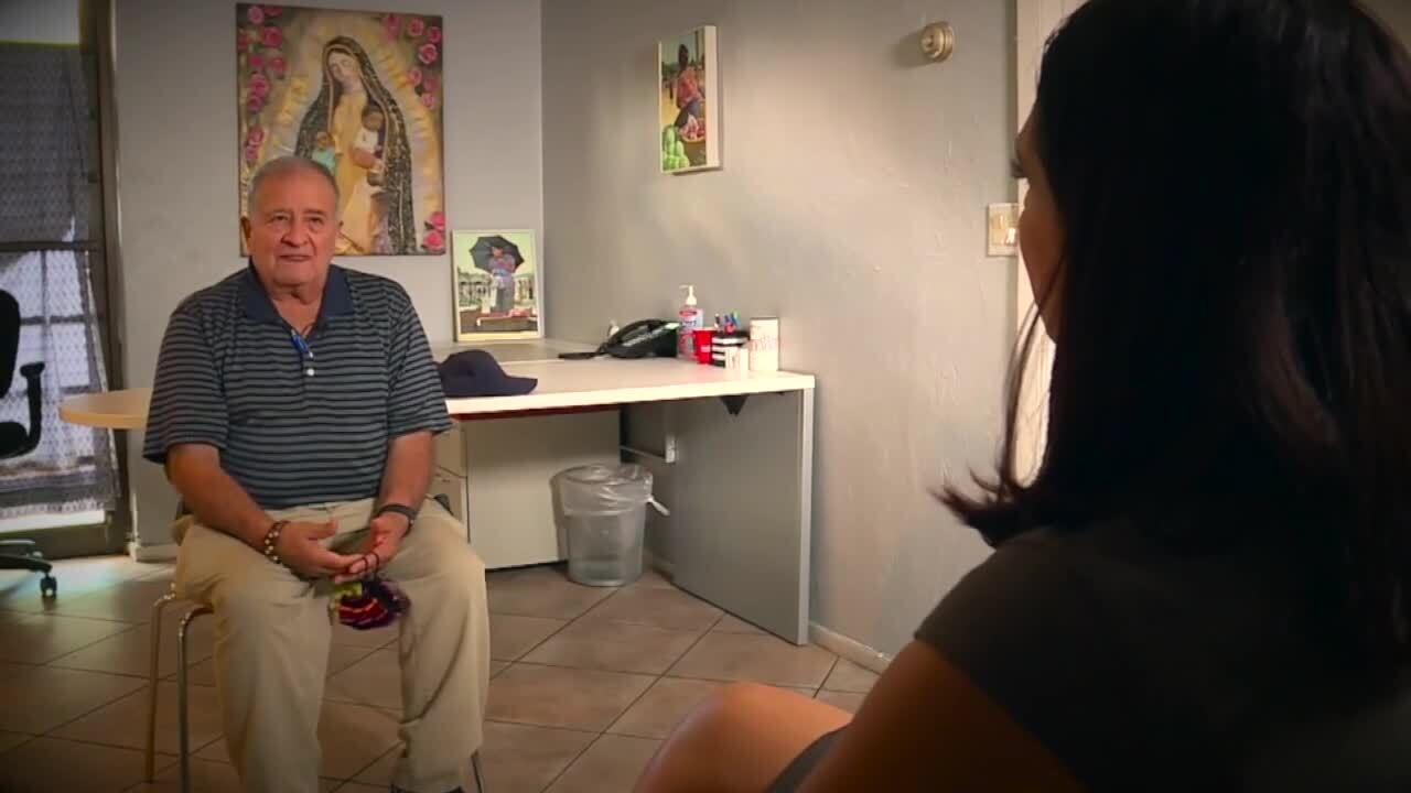 Michelle Quesada interviews Guillermo Carrasco about Frank O'Loughlin