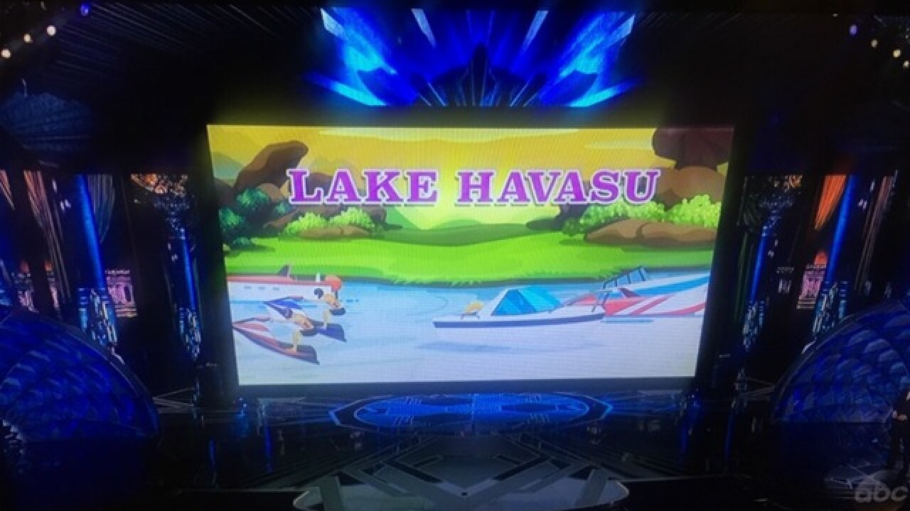 Arizona's Lake Havasu City gets big shout out at 90th Academy Awards