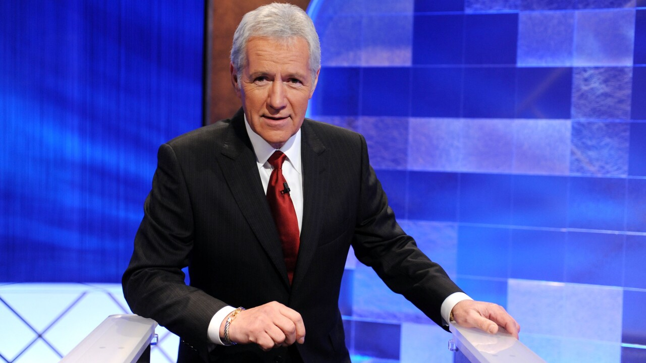 Alex Trebek is done with chemotherapy and back at work on 'Jeopardy!'