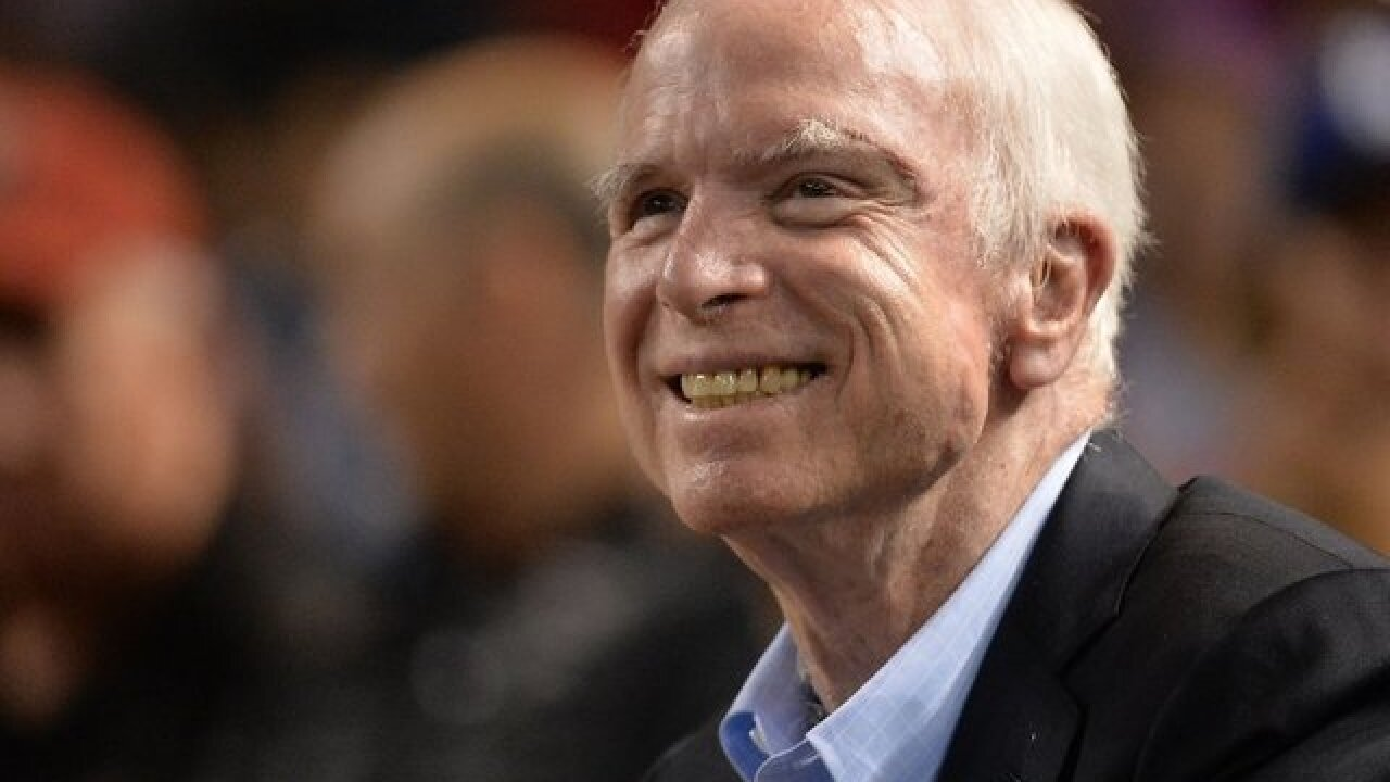 McCain to lie in state in Arizona and D.C.