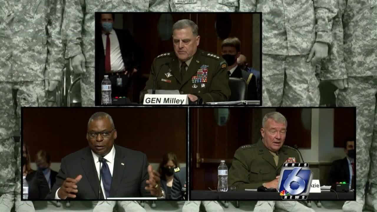 Testimony continues Wednesday on country's Afghanistan withdrawal