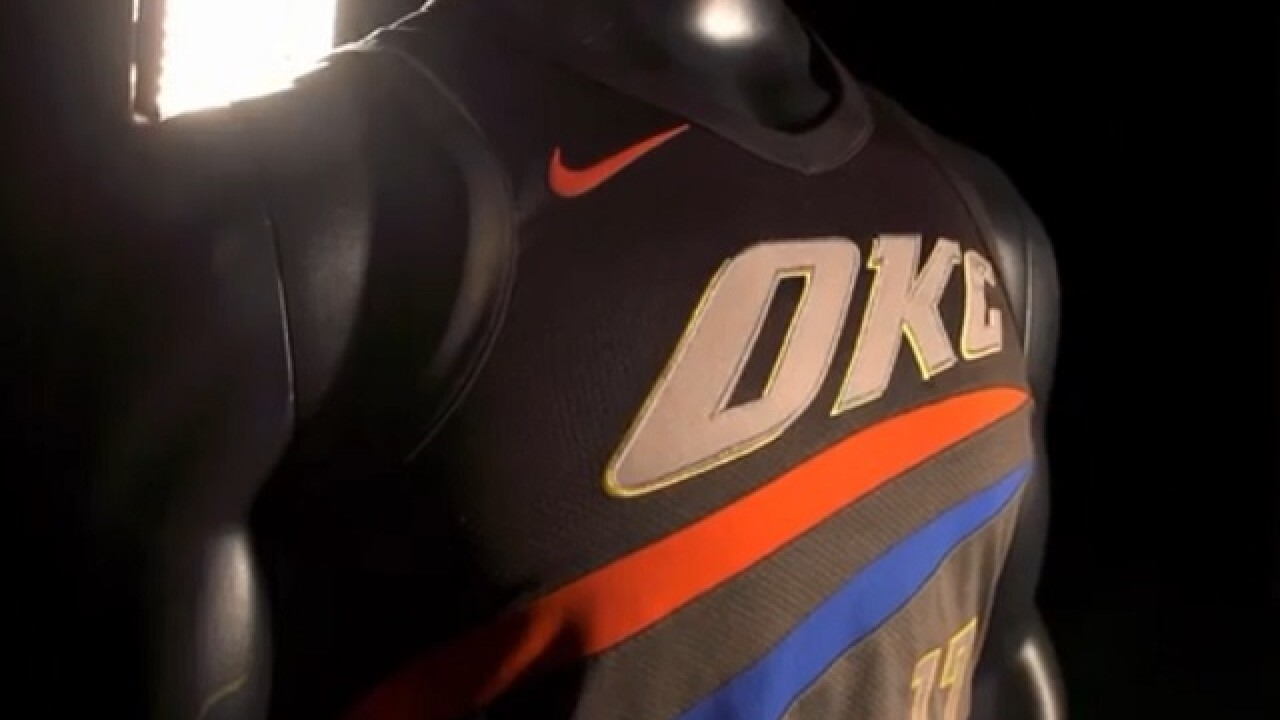 f6c76acbd Oklahoma City Thunder reveals new  City Edition  alternate jerseys