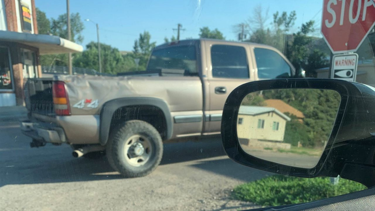 Suspect may have been driving this pickup truck