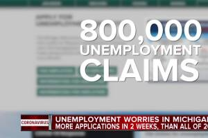 Whitmer: COVID-19 unemployment filings exceed those during height of Great Recession