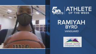 KOAA Athlete of the Week: Vanguard's Ramiyah Bird