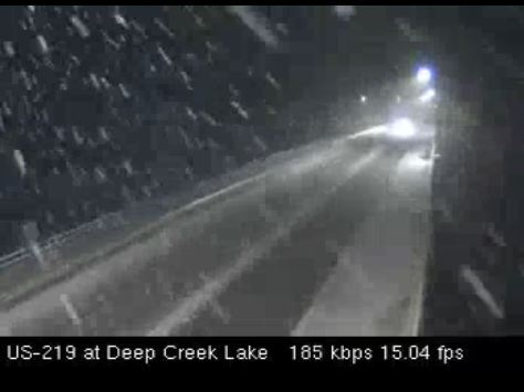 Deep Creek Lake Snow (December 23, 2018) Source (MD 511)