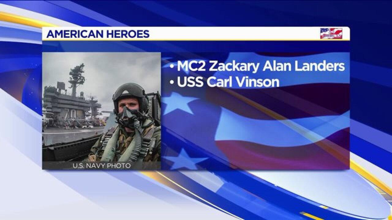 American Heroes: Zackary AlanLanders
