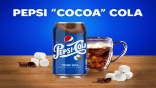 Pepsi Is Launching A Hot Chocolate-flavored Soda And It's Called 'Cocoa Cola'