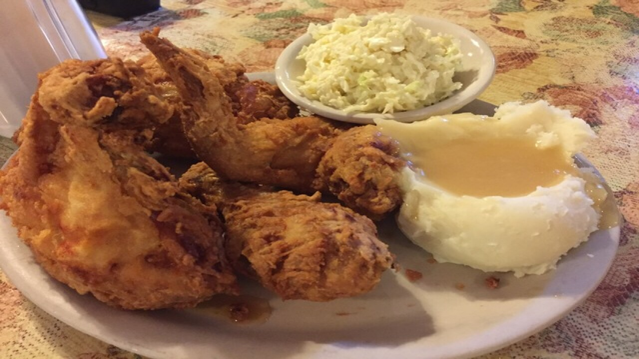 A different kind of fried chicken in Alva